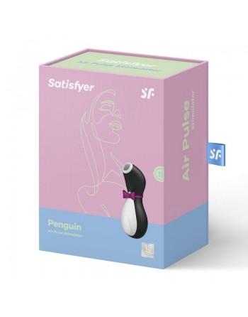 Stimulateur Satisfyer Pro Penguin Nouvelle Génération - Noir et Blanc