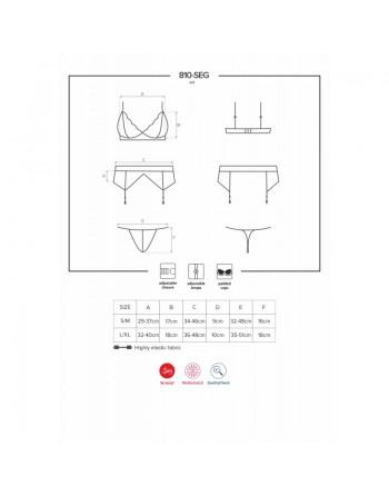 810-SEG-1 Ensemble 3 pcs - Noir