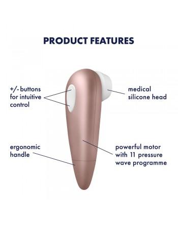 Stimulateur clitoris Satisfyer 1 Next Generation - CC597123